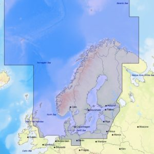 C-MAP North and Baltic Seas EN-M019 MAX MegaWide